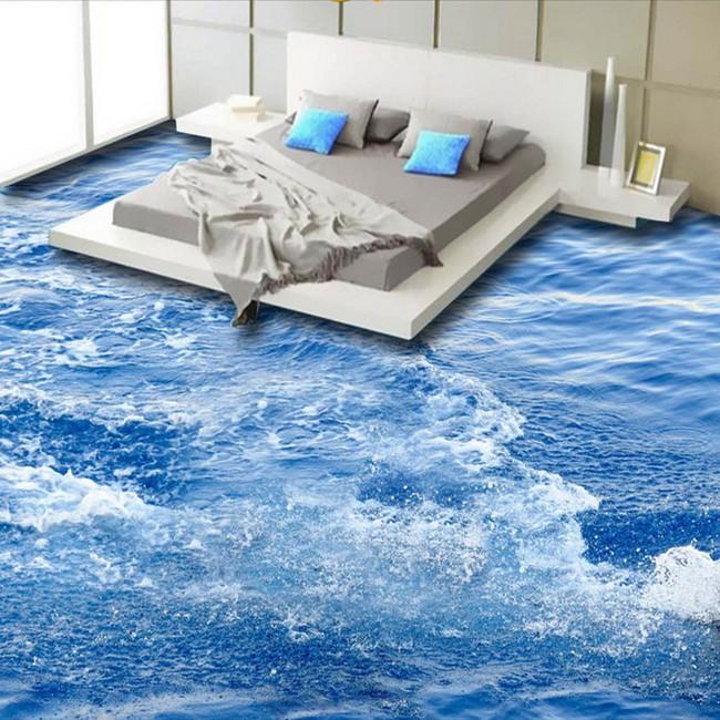 Với kiểu sàn nhà này, ngôi nhà bạn sẽ trở thành một bức tranh sinh động đến khó tin - Ảnh 9.