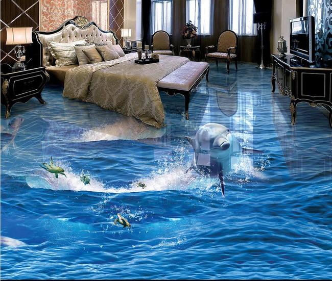 Với kiểu sàn nhà này, ngôi nhà bạn sẽ trở thành một bức tranh sinh động đến khó tin - Ảnh 2.