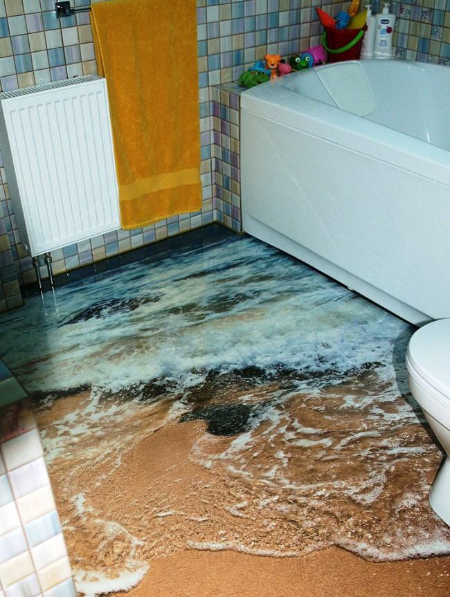 Với kiểu sàn nhà này, ngôi nhà bạn sẽ trở thành một bức tranh sinh động đến khó tin - Ảnh 5.