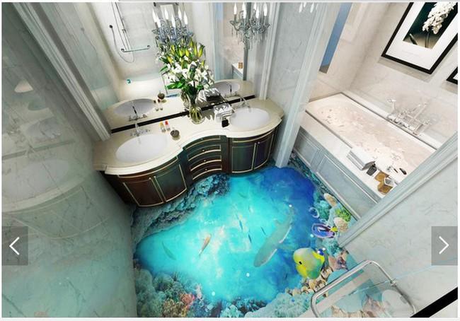 Với kiểu sàn nhà này, ngôi nhà bạn sẽ trở thành một bức tranh sinh động đến khó tin - Ảnh 7.