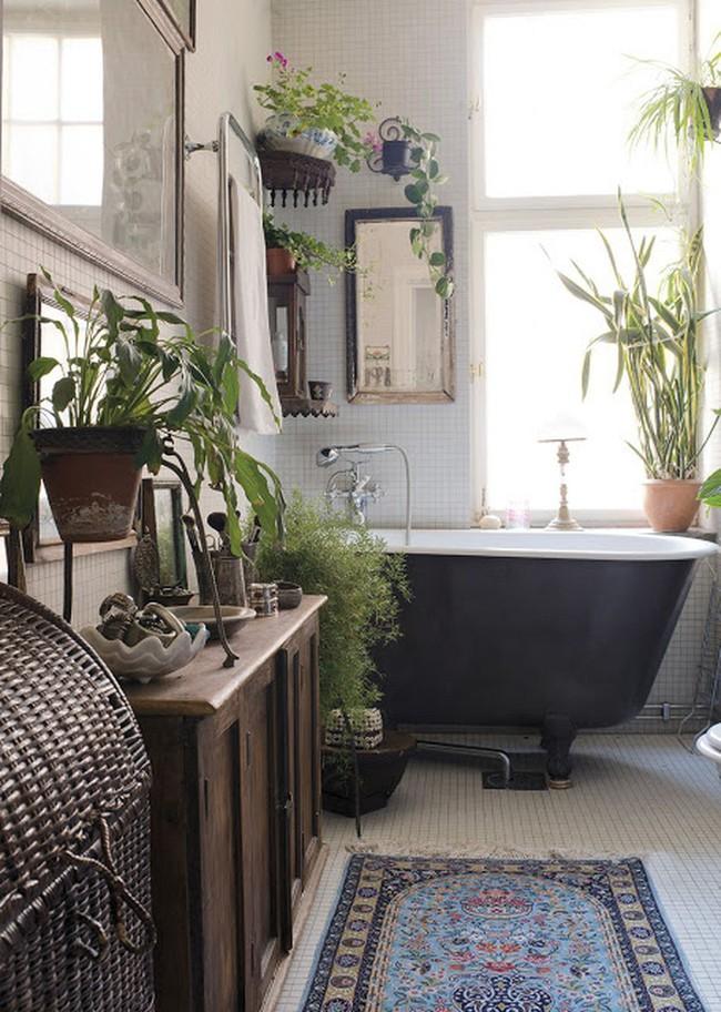 Đem cây xanh vào phòng tắm, xu hướng đang hot hiện nay, trông thì rườm rà nhưng lại đơn giản hơn bạn nghĩ! - Ảnh 4.