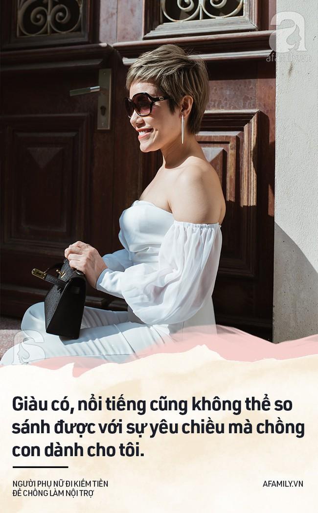 Chuyện của Vân Anh Trần - người đàn bà đẹp chọn việc xây nhà, nhường chồng lui về hậu phương xây tổ ấm - Ảnh 11.