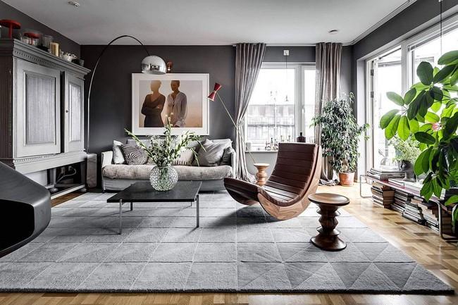 Căn hộ 60m² với phong cách Scandinavian đẹp đến từng milimet không thể không yêu - Ảnh 1.