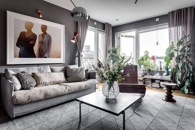 Căn hộ 60m² với phong cách Scandinavian đẹp đến từng milimet không thể không yêu - Ảnh 2.
