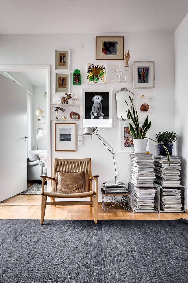 Căn hộ 60m² với phong cách Scandinavian đẹp đến từng milimet không thể không yêu - Ảnh 9.