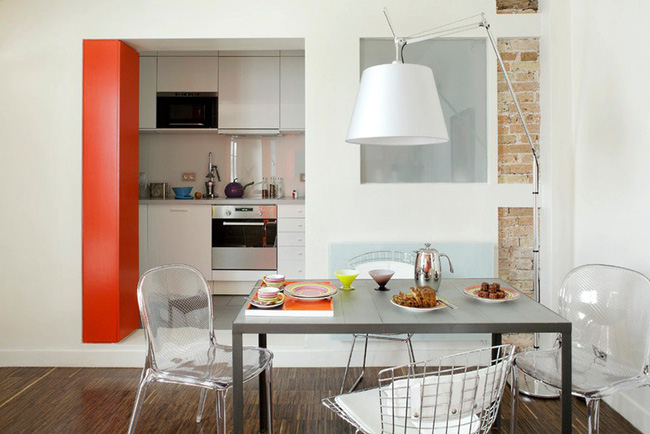 Nhà bếp không có cửa sổ, thực trạng chung của nhiều nhà chung cư và những giải pháp thiết kế khắc phục siêu hay - Ảnh 15.