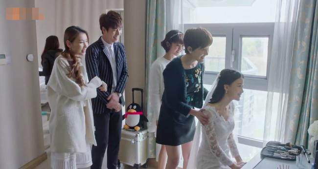 Đau khổ suốt 60 tập, cuối cùng Chung Hán Lương cũng làm đám cưới tưng bừng với Tôn Di  - Ảnh 1.