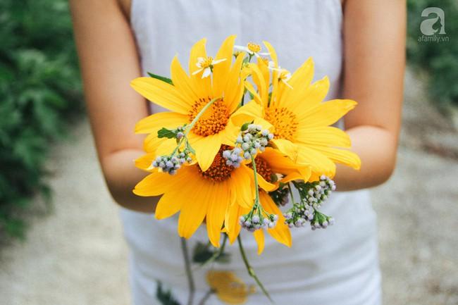 Tháng 11, về Đà Lạt ngắm hoa dã quỳ nở vàng rực rỡ khắp các nẻo đường đi - Ảnh 12.