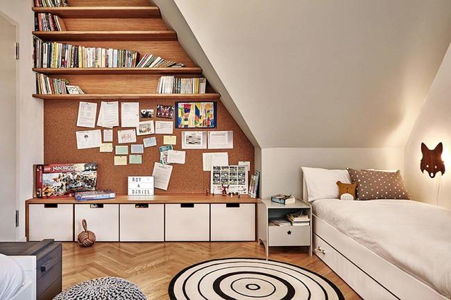 Những căn phòng ngủ cho bé khiến người lớn phải xuýt xoa với phong cách Scandinavian hiện đại - Ảnh 12.