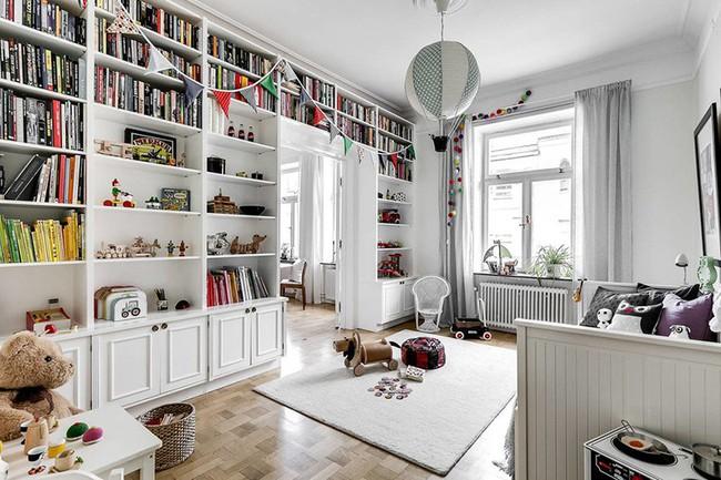 Những căn phòng ngủ cho bé khiến người lớn phải xuýt xoa với phong cách Scandinavian hiện đại - Ảnh 14.