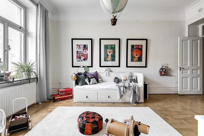 Những căn phòng ngủ cho bé khiến người lớn phải xuýt xoa với phong cách Scandinavian hiện đại - Ảnh 16.