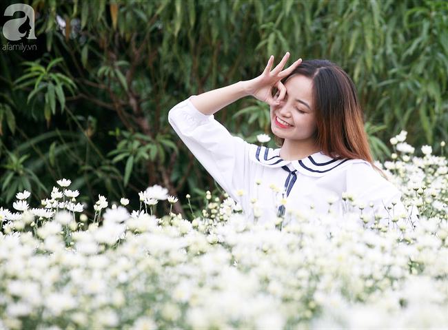 Tháng 11 Hà Nội, đến đâu sẽ nhìn thấy gái xinh nhiều nhất? Xin thưa, vườn cúc họa mi! - Ảnh 9.