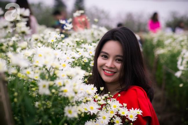 Tháng 11 Hà Nội, đến đâu sẽ nhìn thấy gái xinh nhiều nhất? Xin thưa, vườn cúc họa mi! - Ảnh 4.