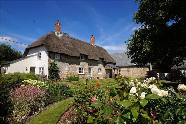 Ngắm những ngôi nhà thơ mộng với giàn hoa đẹp như cổ tích ở làng quê nước Pháp - Ảnh 8.
