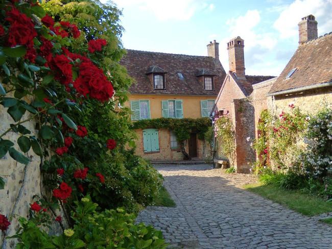 Ngắm những ngôi nhà thơ mộng với giàn hoa đẹp như cổ tích ở làng quê nước Pháp - Ảnh 6.