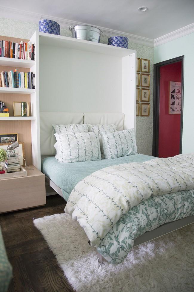 Học lỏm 7 ý tưởng thiết kế giúp tối đa hóa không gian nhà đi thuê hiệu quả - Ảnh 1.