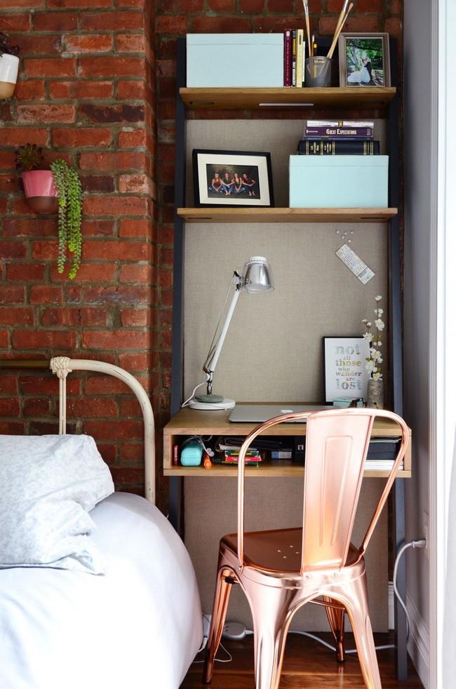 Học lỏm 7 ý tưởng thiết kế giúp tối đa hóa không gian nhà đi thuê hiệu quả - Ảnh 3.