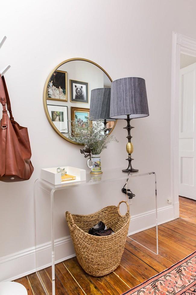 Học lỏm 7 ý tưởng thiết kế giúp tối đa hóa không gian nhà đi thuê hiệu quả - Ảnh 6.