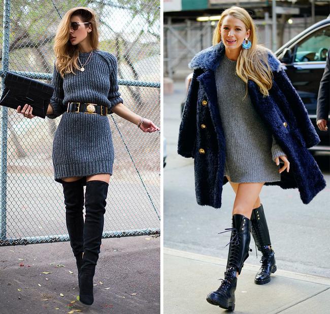 6 kiểu phục trang giúp chị em vừa trẻ trung, năng động mà lại không lo bị lạnh trong ngày trở gió - Ảnh 1.