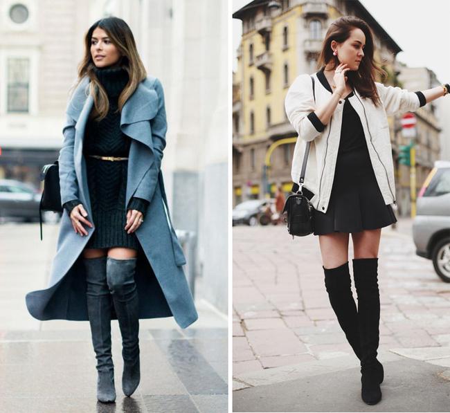 6 kiểu phục trang giúp chị em vừa trẻ trung, năng động mà lại không lo bị lạnh trong ngày trở gió - Ảnh 4.