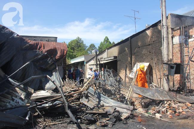 Vụ hỏa hoạn làm 6 người chết: Người lái xe ba gác bị xe bồn tông rồi phát cháy nói gì? - Ảnh 5.