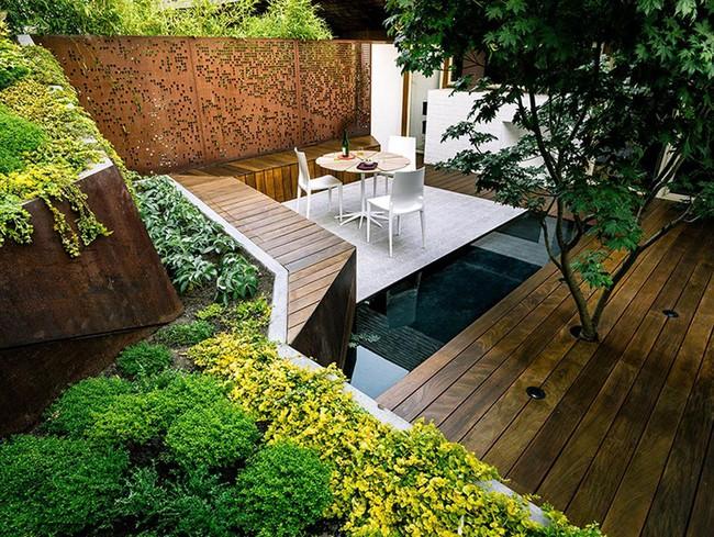 Khu vườn sở hữu góc thư giãn đắt giá đẹp đến mức ai nhìn cũng mê mẩn - Ảnh 2.
