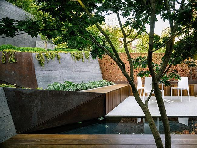 Khu vườn sở hữu góc thư giãn đắt giá đẹp đến mức ai nhìn cũng mê mẩn - Ảnh 4.