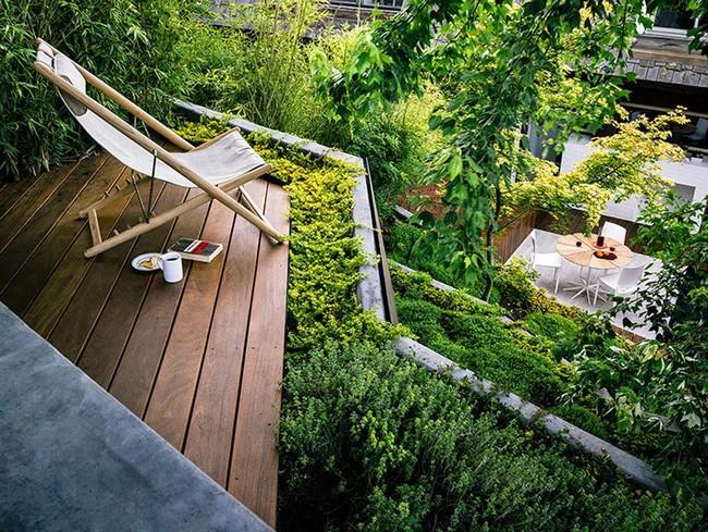 Khu vườn sở hữu góc thư giãn đắt giá đẹp đến mức ai nhìn cũng mê mẩn - Ảnh 6.