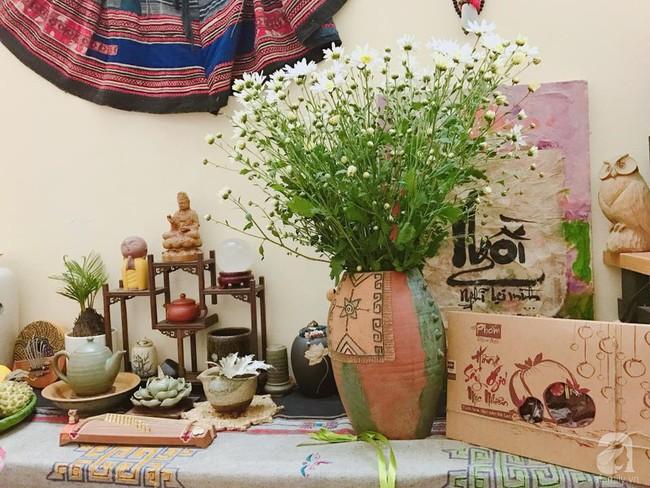 Làm đẹp nhà đón mùa đông Hà Nội với cúc họa mi đẹp dịu dàng, bình yên  - Ảnh 22.