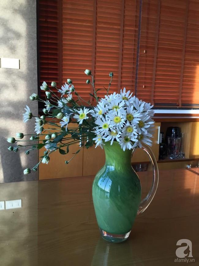 Làm đẹp nhà đón mùa đông Hà Nội với cúc họa mi đẹp dịu dàng, bình yên  - Ảnh 15.