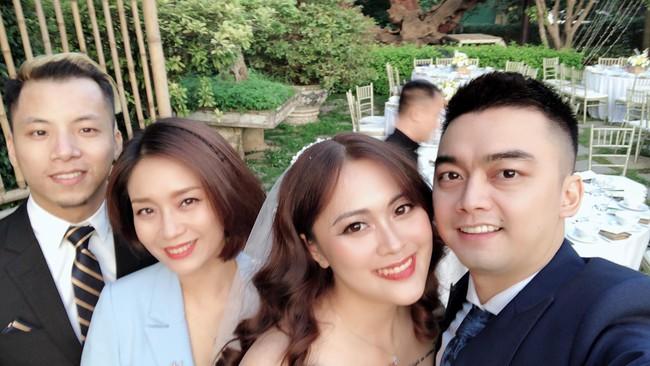 Con trai cơ phó vừa hủy hôn, con gái nghệ sĩ Hương Dung bất ngờ lên xe hoa, nhìn nhan sắc cô dâu ai cũng ngỡ ngàng - Ảnh 2.