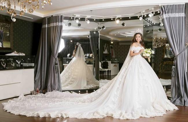Cận cảnh không gian lễ vu quy xa hoa của Hoa hậu Đại dương Đặng Thu Thảo với chồng đại gia - Ảnh 7.