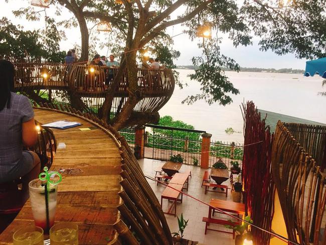Chẳng cần sang Thái, ngay ở Cần Thơ cũng có quán cafe trên cây đẹp lung linh đang được check-in rầm rộ  - Ảnh 4.