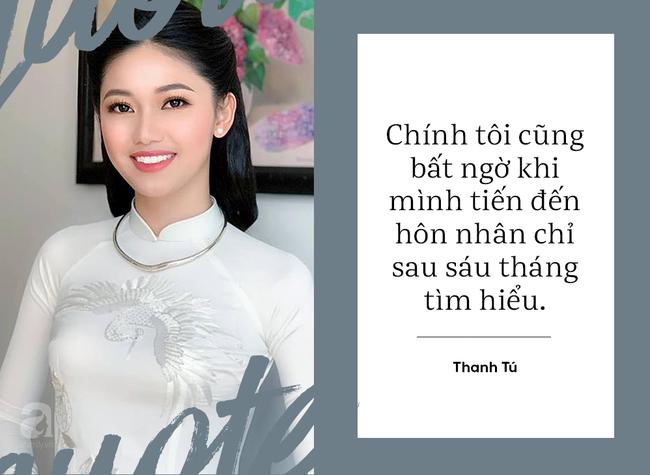 Á hậu Thanh Tú kể chuyện được chồng đại gia U40 cưa đổ; Hồng Nhung tiết lộ 2 con bị sang chấn tâm lý vì bố mẹ ly hôn - Ảnh 4.