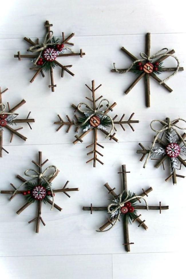 Mách chị em những món đồ handmade dễ thương, dễ làm để trang trí cây thông giúp ngôi nhà rực rỡ ngày Giáng sinh - Ảnh 5.