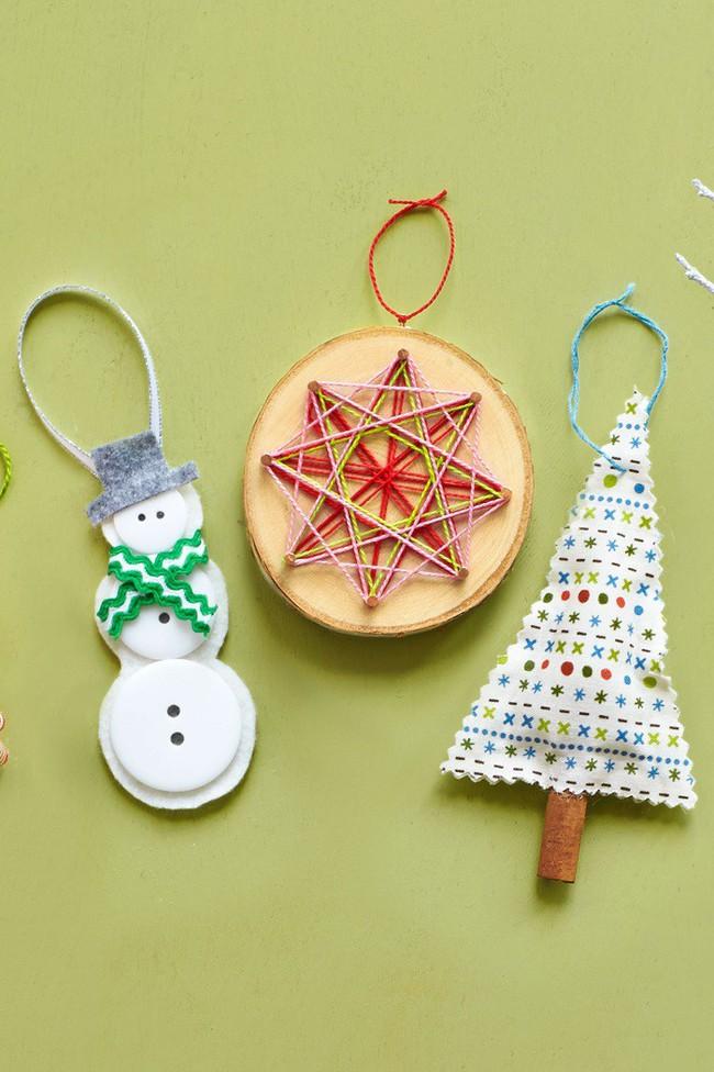 Mách chị em những món đồ handmade dễ thương, dễ làm để trang trí cây thông giúp ngôi nhà rực rỡ ngày Giáng sinh - Ảnh 6.