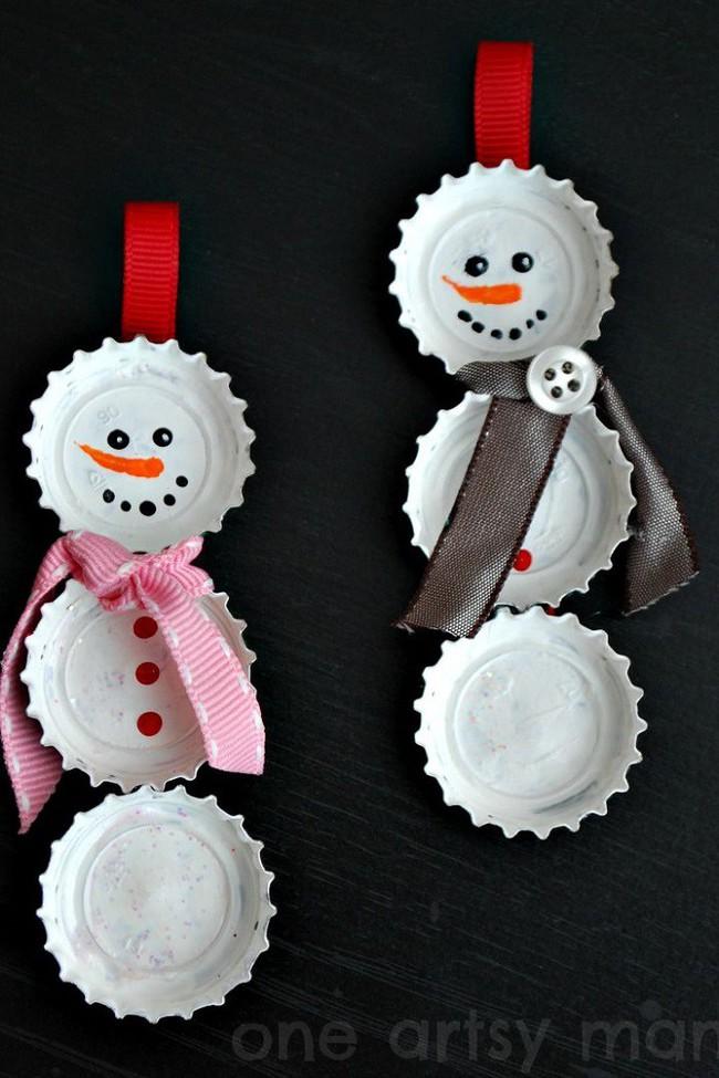 Mách chị em những món đồ handmade dễ thương, dễ làm để trang trí cây thông giúp ngôi nhà rực rỡ ngày Giáng sinh - Ảnh 8.