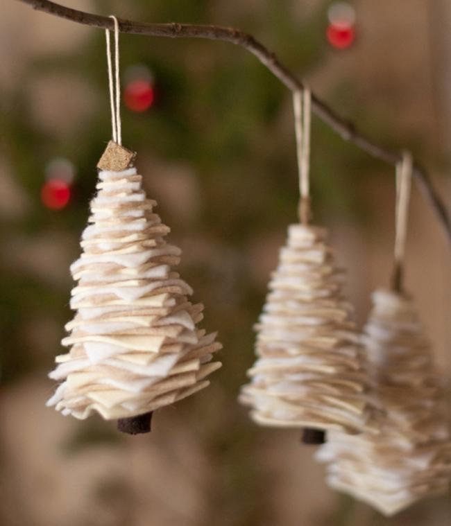 Mách chị em những món đồ handmade dễ thương, dễ làm để trang trí cây thông giúp ngôi nhà rực rỡ ngày Giáng sinh - Ảnh 7.