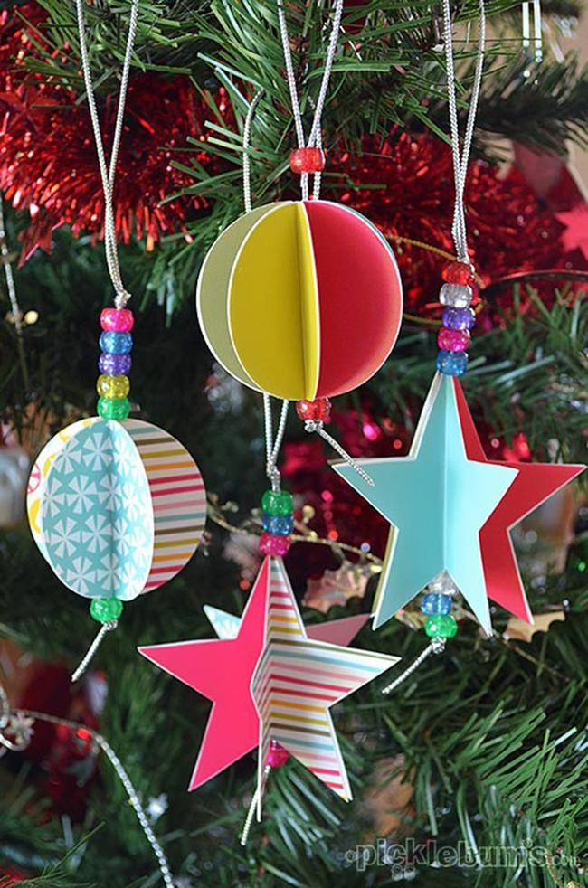 Mách chị em những món đồ handmade dễ thương, dễ làm để trang trí cây thông giúp ngôi nhà rực rỡ ngày Giáng sinh - Ảnh 9.