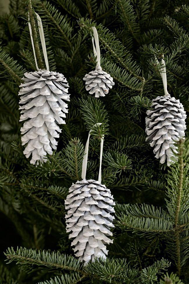 Mách chị em những món đồ handmade dễ thương, dễ làm để trang trí cây thông giúp ngôi nhà rực rỡ ngày Giáng sinh - Ảnh 10.