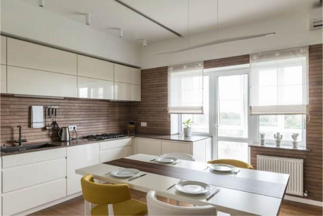 Cách chọn rèm cửa cho nhà bếp kết nối với ban công vừa đẹp vừa thuận tiện đi lại - Ảnh 19.