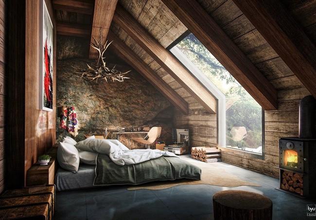 Như ở trong giấc mơ với 20 phòng ngủ trên tầng áp mái vô cùng xinh đẹp - Ảnh 1.