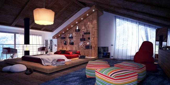 Như ở trong giấc mơ với 20 phòng ngủ trên tầng áp mái vô cùng xinh đẹp - Ảnh 2.