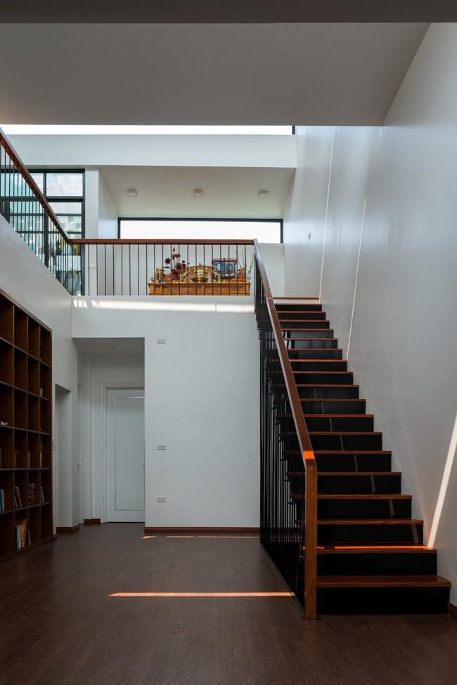 Cận cảnh ngôi nhà có ruộng bậc thang ngay mặt tiền đạt nhiều giải thưởng kiến trúc lớn ở Hà Tĩnh - Ảnh 7.