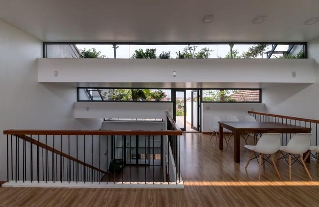 Cận cảnh ngôi nhà có ruộng bậc thang ngay mặt tiền đạt nhiều giải thưởng kiến trúc lớn ở Hà Tĩnh - Ảnh 12.