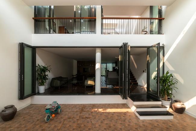 Cận cảnh ngôi nhà có ruộng bậc thang ngay mặt tiền đạt nhiều giải thưởng kiến trúc lớn ở Hà Tĩnh - Ảnh 5.