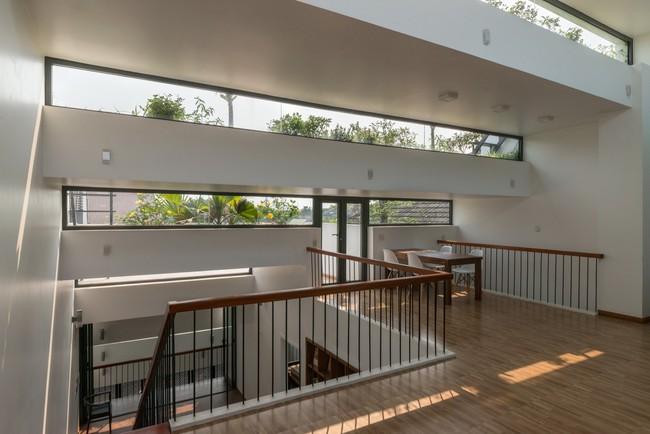 Cận cảnh ngôi nhà có ruộng bậc thang ngay mặt tiền đạt nhiều giải thưởng kiến trúc lớn ở Hà Tĩnh - Ảnh 13.