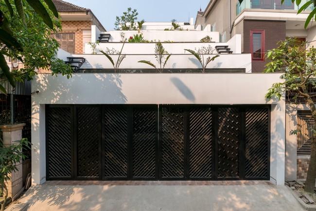 Cận cảnh ngôi nhà có ruộng bậc thang ngay mặt tiền đạt nhiều giải thưởng kiến trúc lớn ở Hà Tĩnh - Ảnh 4.