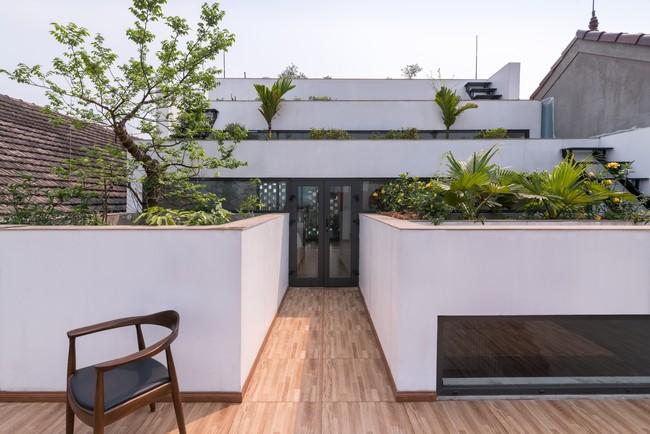 Cận cảnh ngôi nhà có ruộng bậc thang ngay mặt tiền đạt nhiều giải thưởng kiến trúc lớn ở Hà Tĩnh - Ảnh 15.