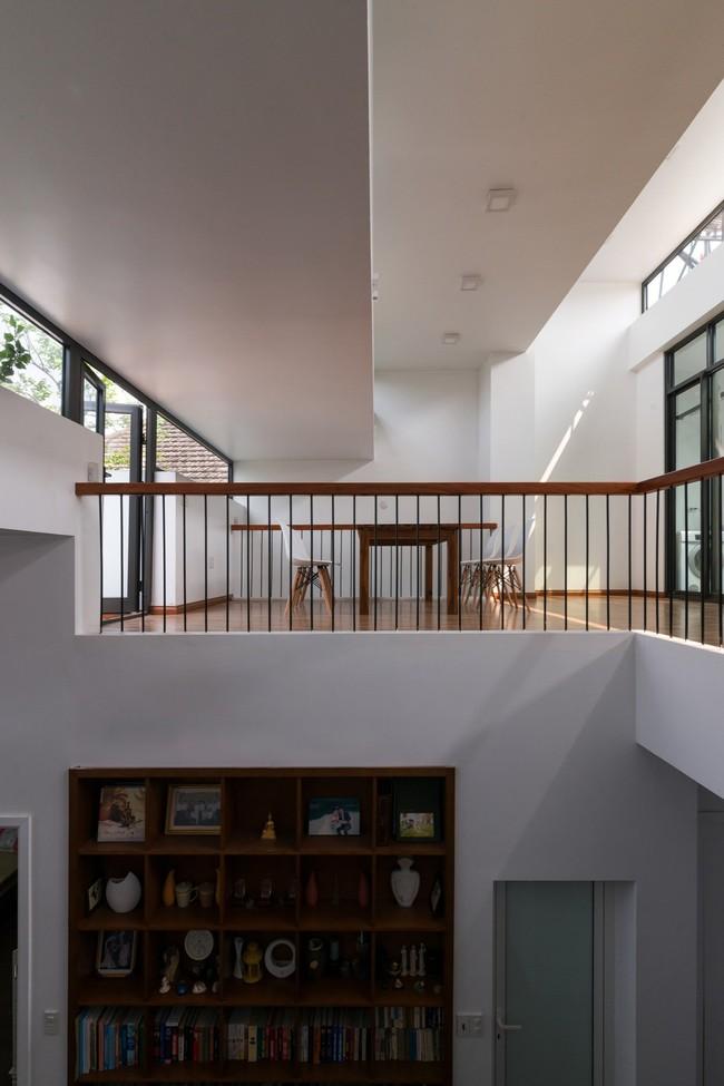 Cận cảnh ngôi nhà có ruộng bậc thang ngay mặt tiền đạt nhiều giải thưởng kiến trúc lớn ở Hà Tĩnh - Ảnh 8.